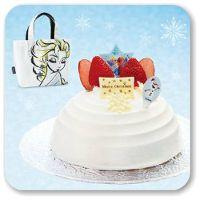 ファミリーマートのクリスマスケーキ2014 アナと雪の女王のケーキが登場!