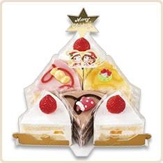 不二家のクリスマスケーキ2015