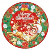 2015年限定デザインクリスマスプレート