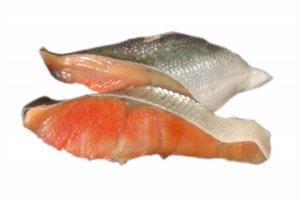 餃子の変わり種に鮭