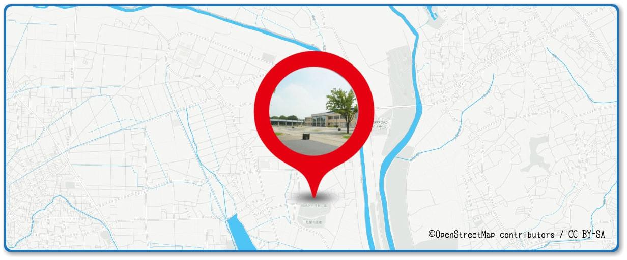 あげお花火大会 川越運動公園付近の地図