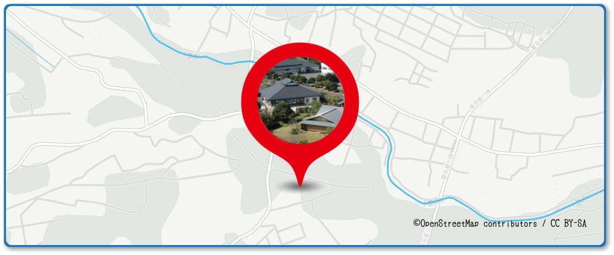 ふくろい遠州の花火の穴場スポット 香りの丘茶ピア周辺の地図