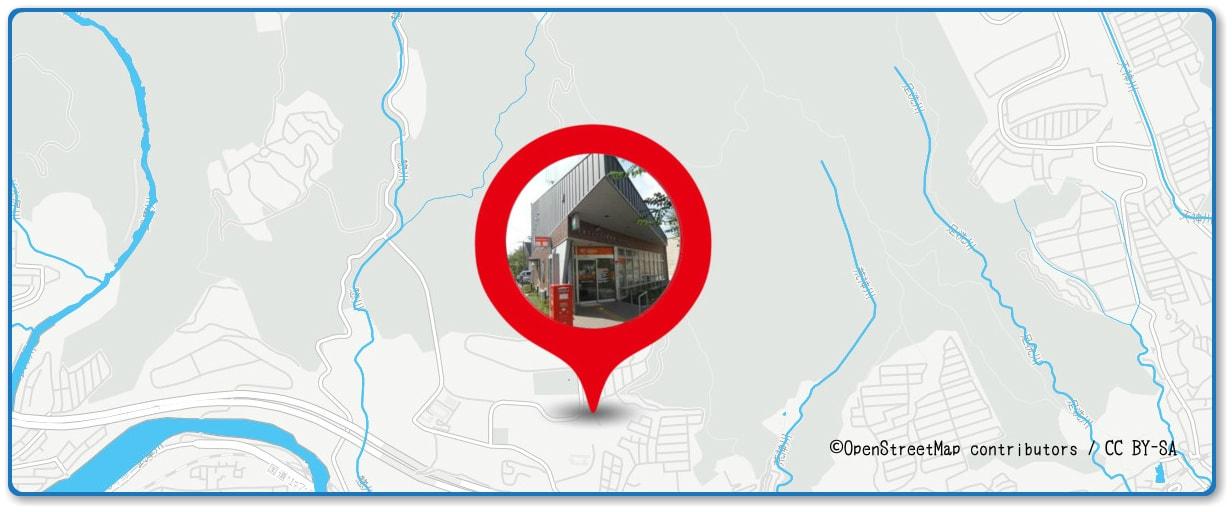 猪名川花火大会の穴場スポット すみれが丘周辺の地図